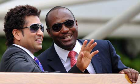 Sachin Tendulkar the greatest cricketer in history – Brian Lara
