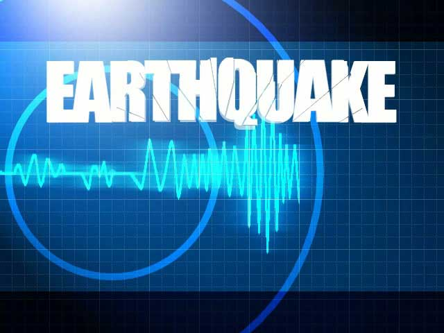 Earthquake strikes in the south of the Atlantic Ocean
