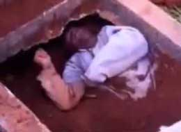Man Buried Alive In Brazil Rises From Grave (Video)