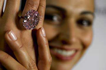 Pink Star diamond fetches record $83m at auction