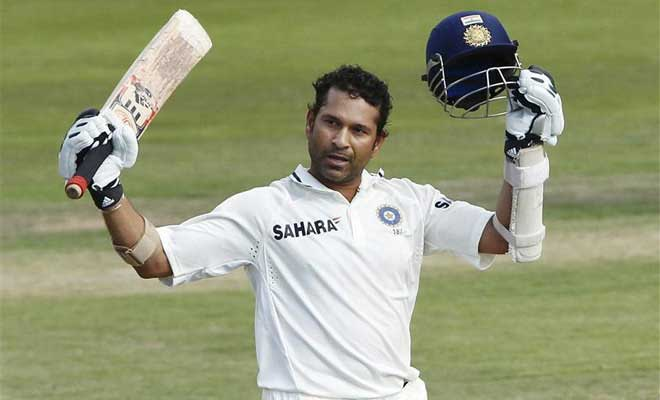 Sachin Tendulkar makes final test appearance