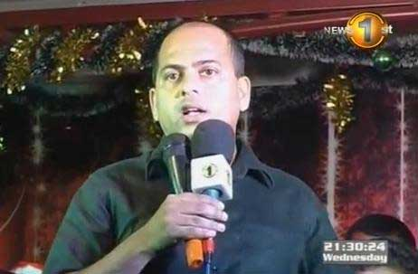 S.M. Marikkar speaks at Christmas Carols organised by Sirasa