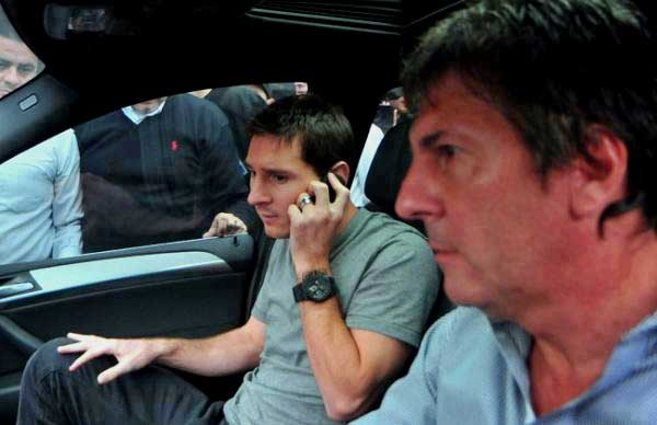 Messi's dad laundered Colombian drug money: report