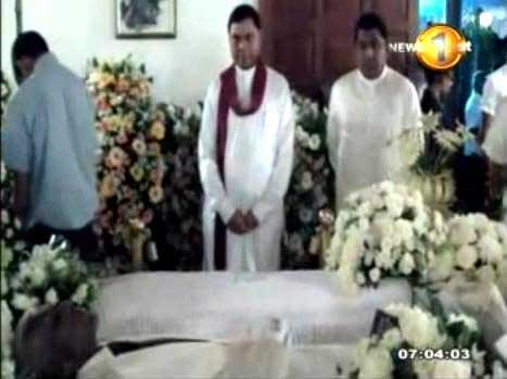 Renowned Educationist R.I.T.Alles – His final journey