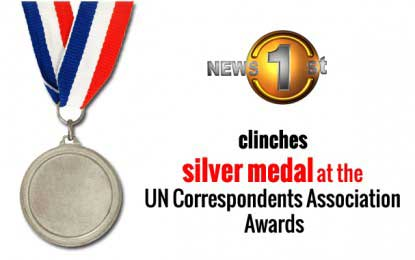 Newsfirst clinches silver medal at the UN Correspondents Association Awards