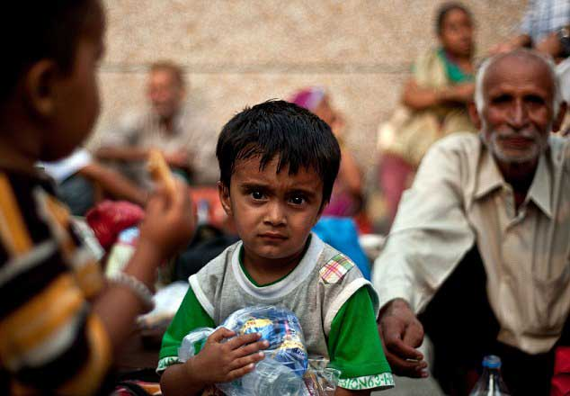 Thirty four children died in India relief camps  – Report