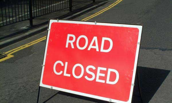 Galle Face entry road closed