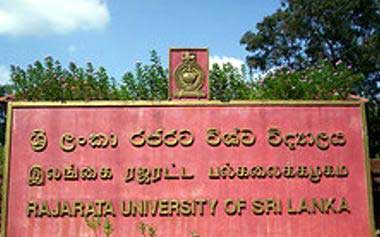 Four faculties of Rajarata University closed temporarily