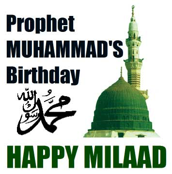 Muslims mark the birth of Prophet Muhammad today