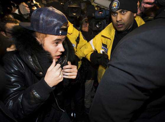 'Cocky' Bieber positive for drugs- Police
