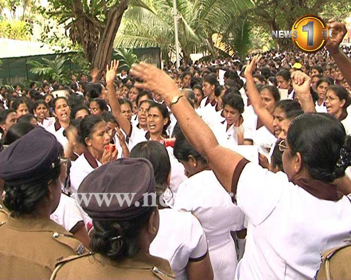 Midwife Protest newsfirst 5