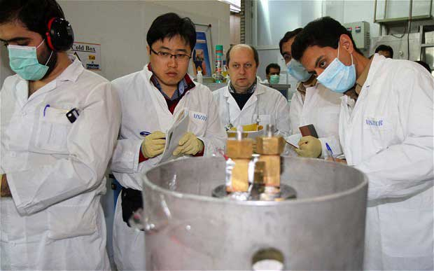 Iran halts sensitive uranium enrichment