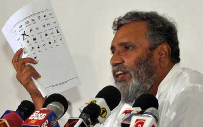 Elections Commission chairman issues stern warning over election law violation