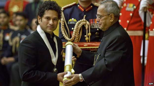 Sachin Tendulkar conferred Bharat Ratna