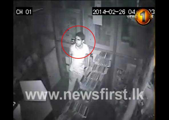 Exclusive CCTV footage: Kesbewa robbery in action