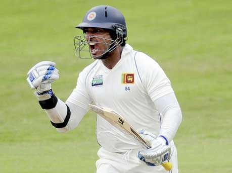 Sangakkara scores his first triple century in Test cricket