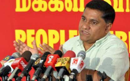 JVP to seek legal redress against violation of election laws