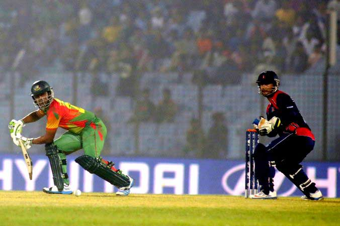 Hong Kong beat hosts Bangladesh at T20 World Cup
