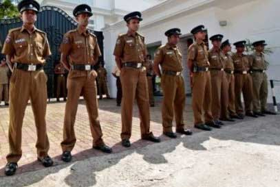 Special police security at Matale General Hospital