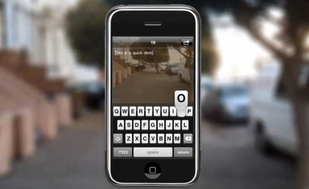 See-through iPhone patent will help you walk and text