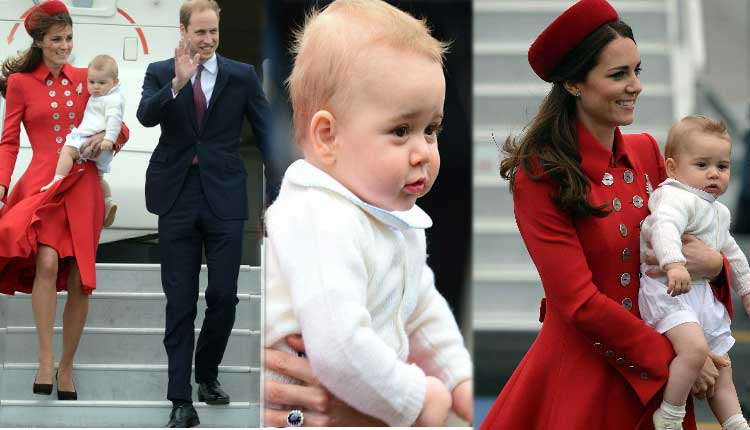 Prince George goes on first 'official tour'