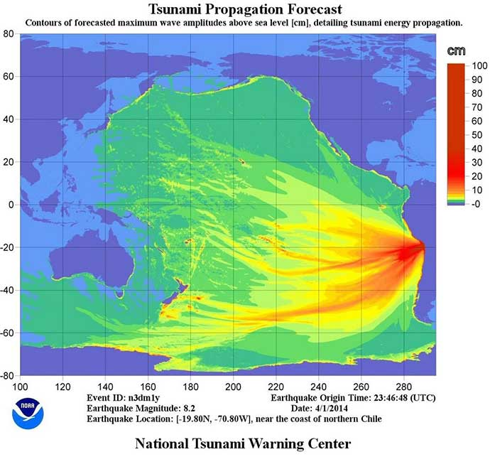 Tsunami heads towards the Indian Ocean – countries likely to be affected