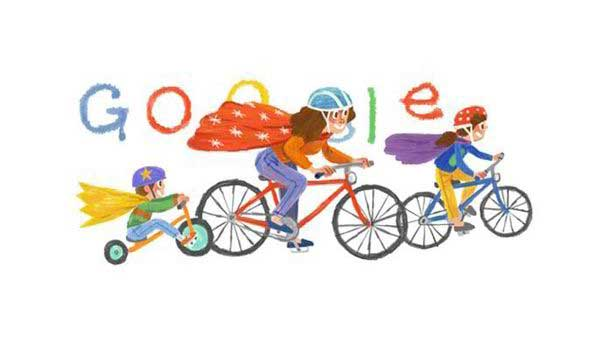 Google marks Mother's Day with a doodle