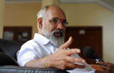 Wigneswaran will not join govt. delegation for Modi's swearing in ceremony