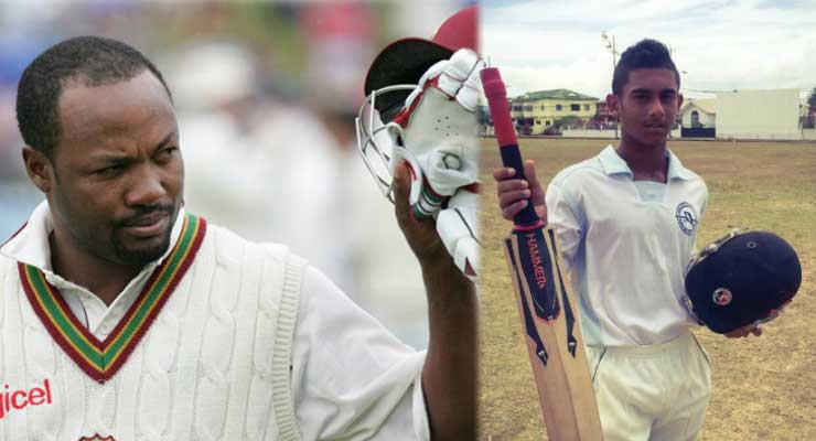 The next Brian Lara – a great cricketer in the making