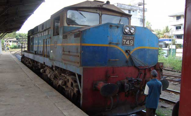 Upcountry train services slow down as rail track remains inaccessible