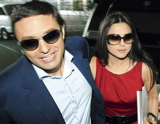 Wadia group complains of threats from underworld over Preity Zinta