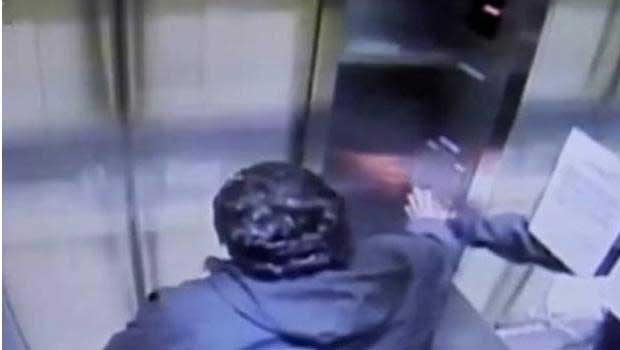 Elevator climbs 31 floors in 15 seconds with the doors open slamming passenger into roof