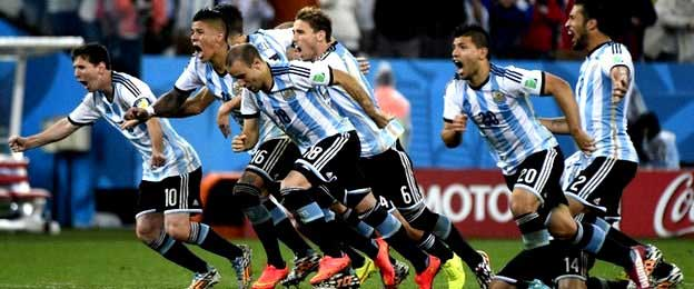 Argentina forges ahead to World Cup finals