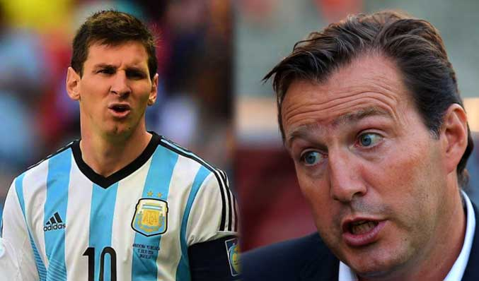 Belgium boss Marc Wilmots claims World Cup referees are scared to book Lionel Messi