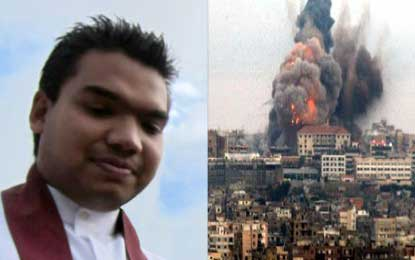 Prayers for those affected by violence – Namal tweets on Palestine-Israeli region