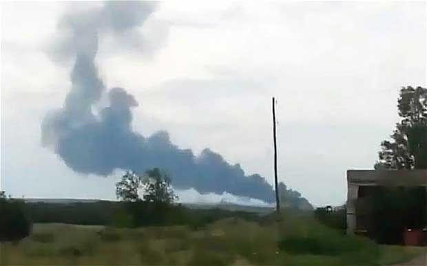 Malaysia Airlines plane shot down in Ukraine near Russian border