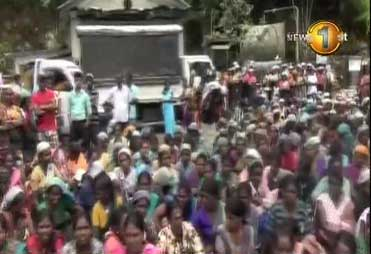 Protesters take to the streets claiming Ratnapura child molestation suspect was not arrested