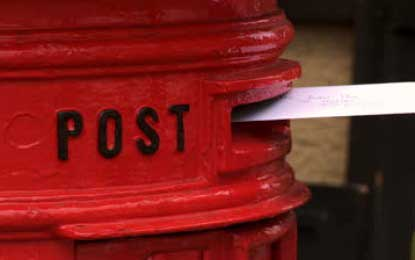 Delay in the mail – postal charge increase postponed