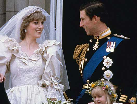 Slice of Princess Diana's wedding cake auctioned