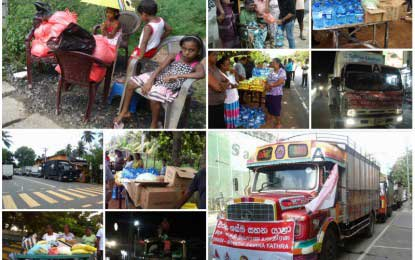 Sirasa Shakthi Sahana Yathra: Journey of compassion to reach destination – Special Report