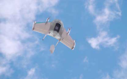 Google's Incredible Project Wing: Instant Delivery Via Drone