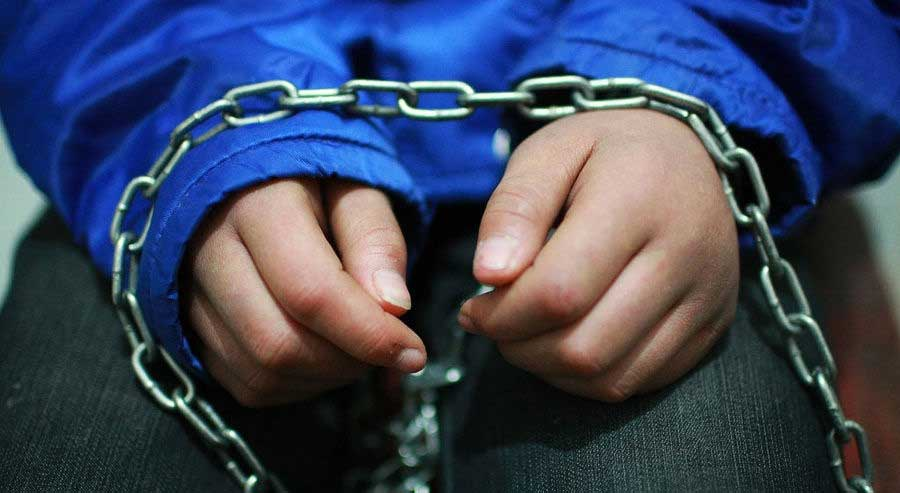 Child found chained in Negombo house