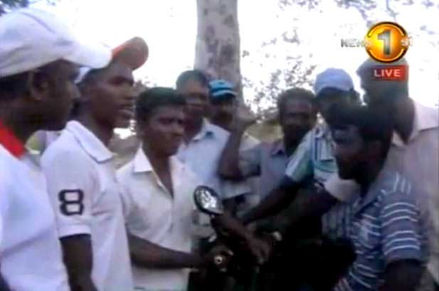Happiness springs after Sirasa TV report on Medirigiriya drought-stricken family