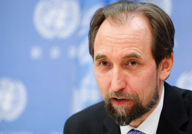 Prince Zeid Al-Hussein to deliver oral update to UNHRC