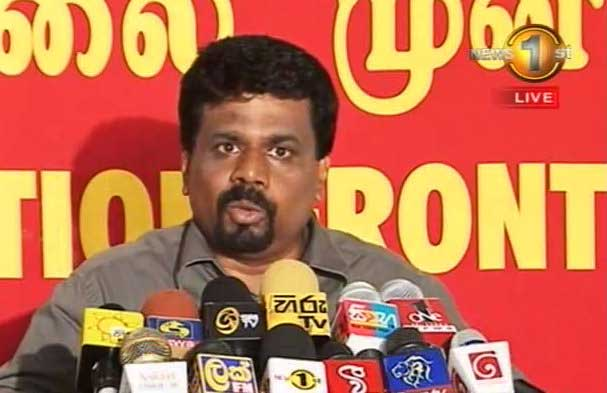 Thondaman's politics is to establish bars all over estates – says Anura Kumara