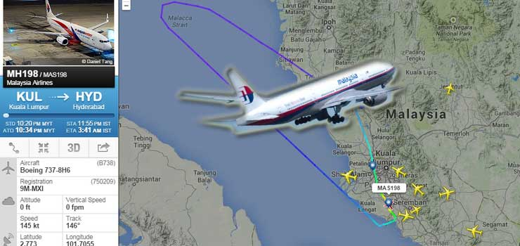Another Malaysia Airlines plane runs into trouble