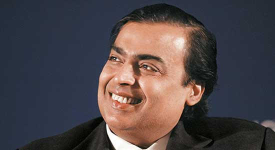 Mukesh Ambani again tops list of India's richest tycoons