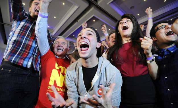 Scotland voters say 'no' to independence