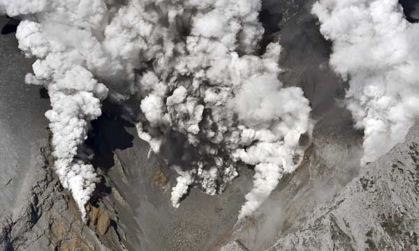Volcano erupts in Japan; Several injured