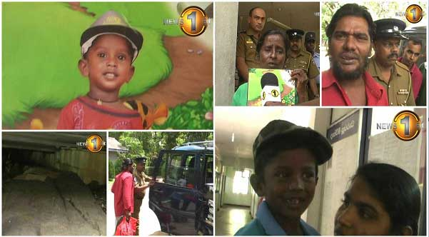 Dambulla police help re-unite parents with child after one year